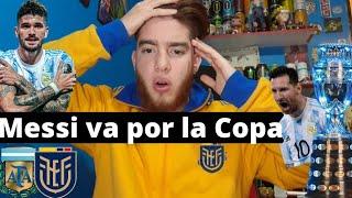 Argentina Vs Ecuador 3-0 | Reacción de Hinchas