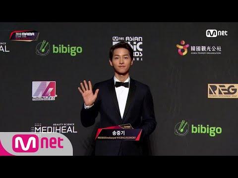Red Carpet With Song Joong Ki│2018 MAMA In HONG KONG 181214