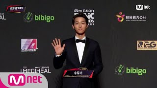 Red Carpet with Song Joong Ki│2018 MAMA in HONG KONG 181214