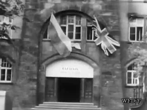5 May 1945, Czarne Diabły Generała Stanisława Maczka w Wilhelmshaven.