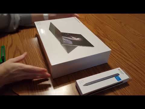 Microsoft Surface Pro Core M Unboxing