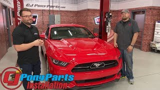 """2015-2018 Mustang EcoBoost MBRP Downpipe High-Flow Catted 3"""" Installation"""