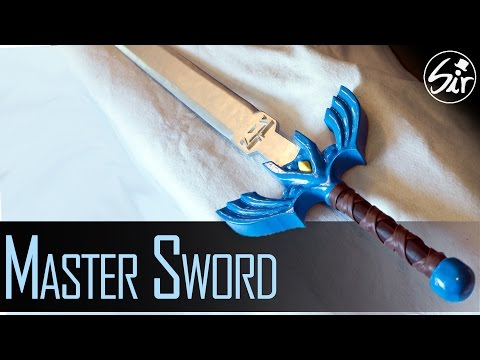 How to make the Master Sword out of Wood - DIY