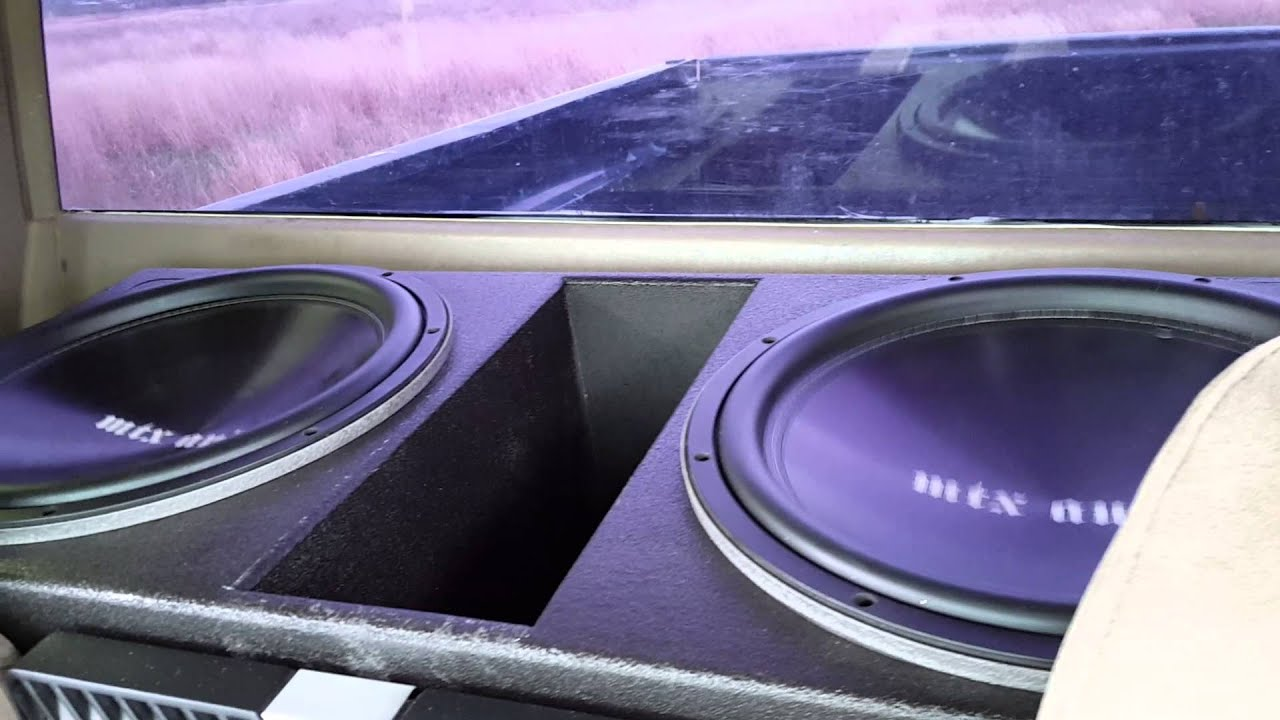 15 Inch Mtx Tr75 In Probox And Rockford T1500 Amp By Chris Marinez
