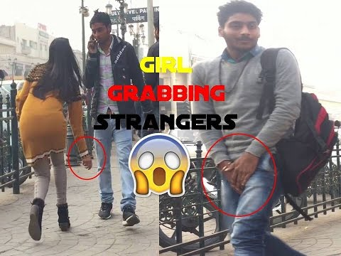 Girl Grabbing Men's **** [] Pranks In INDIA [] Epic Reactions Ft. Team X Adventure