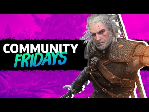 Hunting As Geralt In Monster Hunter World | GameSpot Community Fridays thumbnail