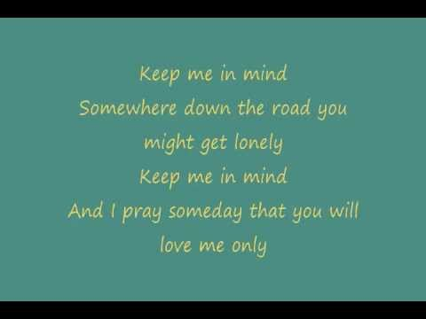 Zac Brown Band - Keep Me In Mind (Lyrics)