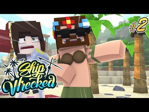 HOW WILL WE SURVIVE! | Minecraft Ship-Wrecked Ep.2
