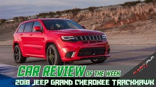CRAZY!!  707 HP 2018 Jeep Grand Cherokee Trackhawk Review