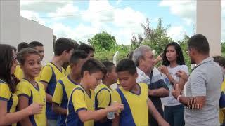 Prefeito Bessa inaugura adutora de 18 quilômetros de extensão para assegurar o abastecimento d'água
