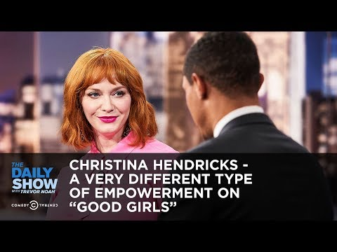 "Christina Hendricks - A Very Different Type of Empowerment on ""Good Girls"" 