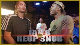 IAN B VS REUP SNUBS 1SK RAP BATTLE - RBE