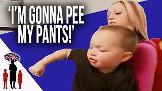 3Yr Old Wets Himself On Purpose | Supernanny USA