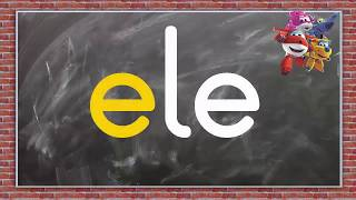 Dik temel harfler e l a sesleri birleştirme el ele elle Ela Lale el ele okuma çalışması