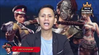 VIDEO TECHNICAL MEETING TURNAMEN ROYALE COMBAT