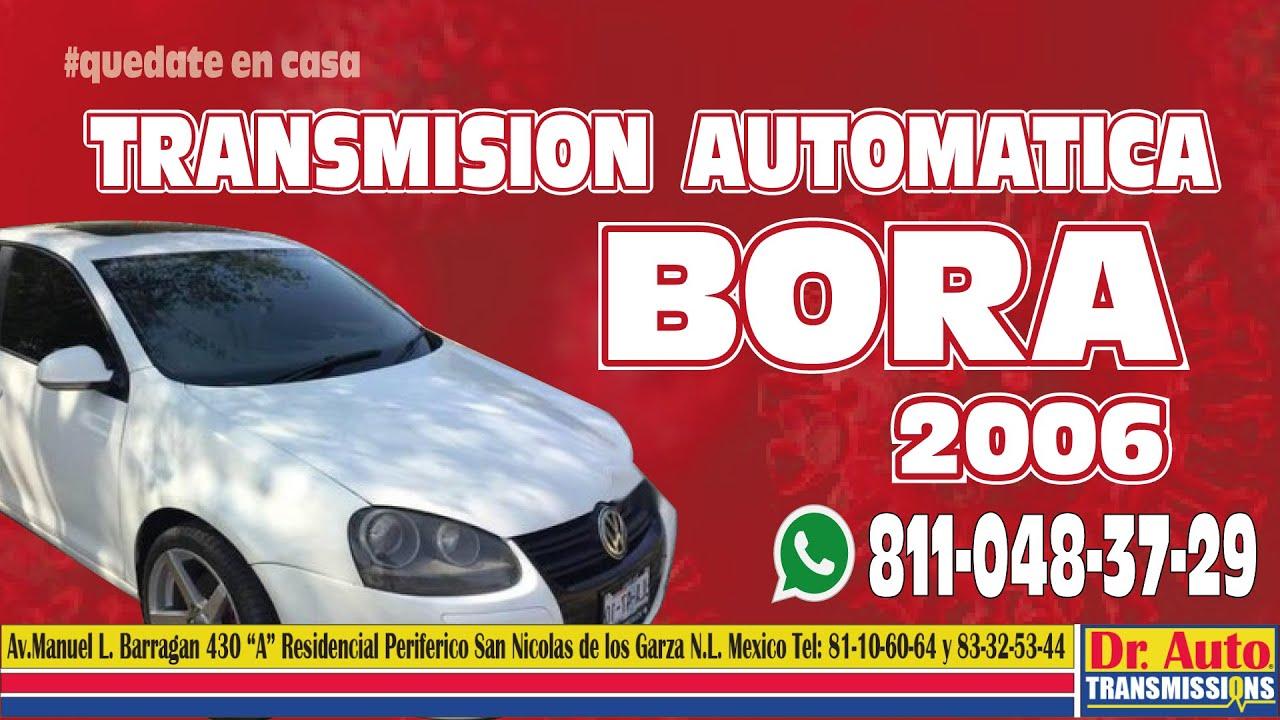 Bora 2006 Transmision automatica