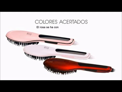 ¿Por qué elegir el cepillo alisador Perfect Liss Brush by agv  - YouTube b7c5f799ad36