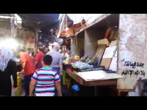 Walking through Downtown Nablus