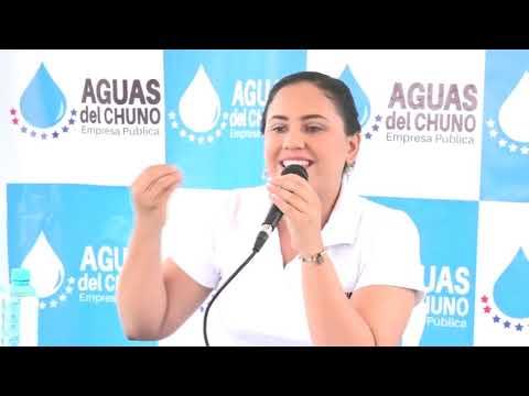Microinformativo Yo Soy de Chone - Rueda de prensa Aguas del Chuno