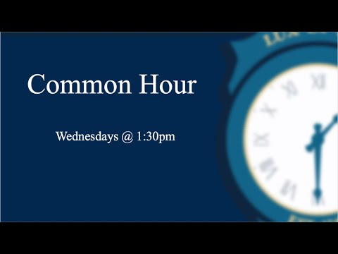 Common Hour - Why Are You Wearing That? Lessons from the Eighteenth Century