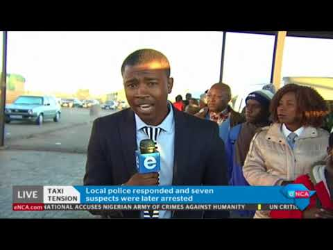 Commuters speak out following Brakpan taxi violence