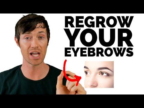 How To Stop Thyroid Eyebrow Hair Loss Youtube