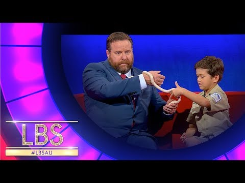 6 Year Old Reptile Ranger Charlie Shares His Love For Wildlife | Highlights | Little Big Shots Aus