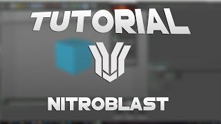 ✦ NitroBlast installieren!✦ /Cinema 4D Tutorial [German] / ✧ SansFX ✧
