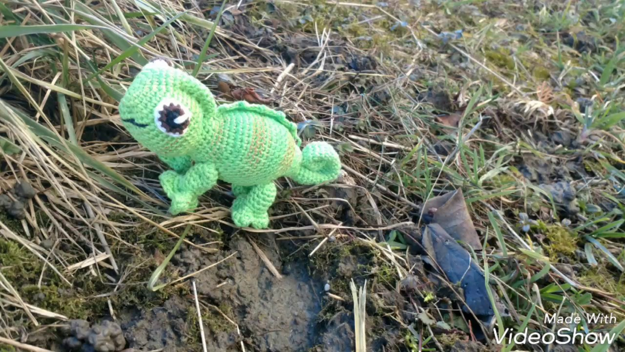 Crochet Chameleon (Milla) - YouTube