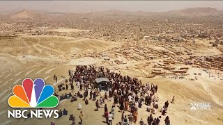 Girls Killed in Afghanistan School Bombing Laid To Rest | NBC Nightly News