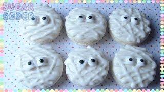 Mummy Macarons, Mummy Cookies - Sugarcoder
