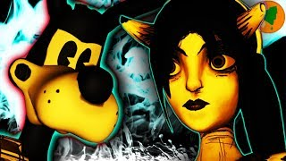 Alice Angel and Boris ARE EVIL?!? - Bendy Chapter 5: The Message You Missed