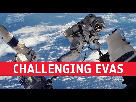 Challenging spacewalks for Luca