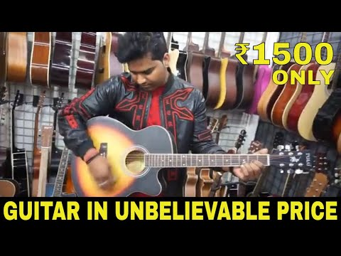 Buy Guitars (Electric, Bass, Acoustic) Harmonium, Drum, Sitar In Cheap | Musical Instruments Market