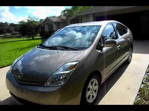 Toyota Prius With Cloth Interior GoldTan YouTube - 2004 prius