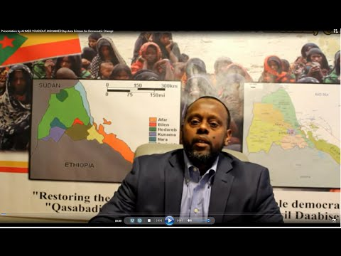 Seminar in the Bay Area about the Afar people suffering