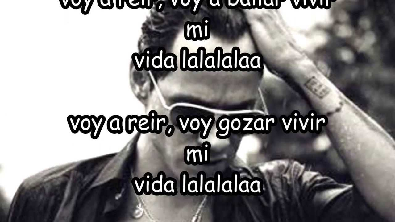 Marc Anthony-vivir la vida (letras) - YouTube