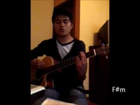 Anna Sun By Walk The Moon Acoustic Cover With Chordswmv Youtube