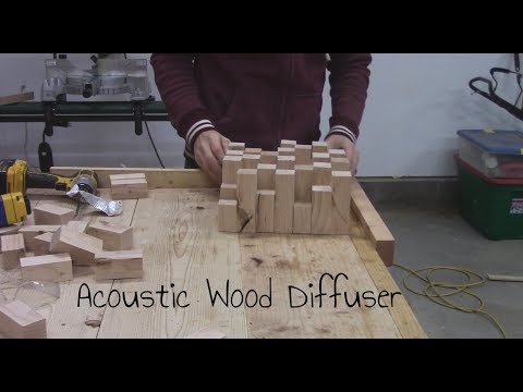 How to build a Wood Acoustic Diffuser