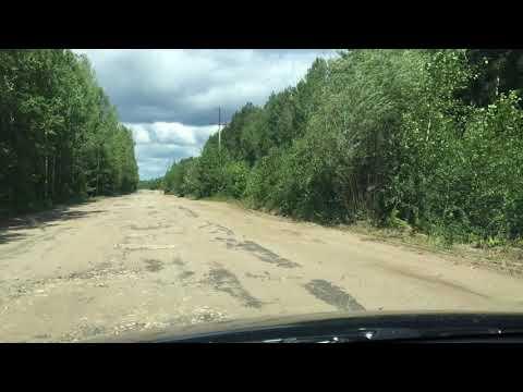 Участок дороги Саранск - Кадом -  Сасово / Ужасный участок на границе Мордовии и Рязанской области.