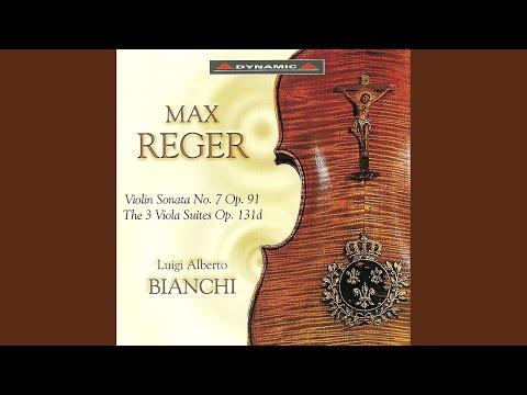 Viola Suite In G Minor, Op. 131d, No. 1: IV. Molto Vivace