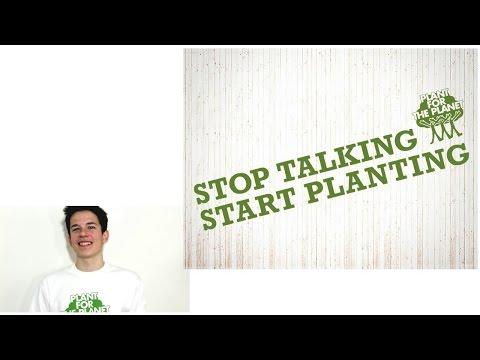 Der Vortrag für Klimagerechtigkeit: Übe den Plant-for-the-Planet-Standardvortrag!