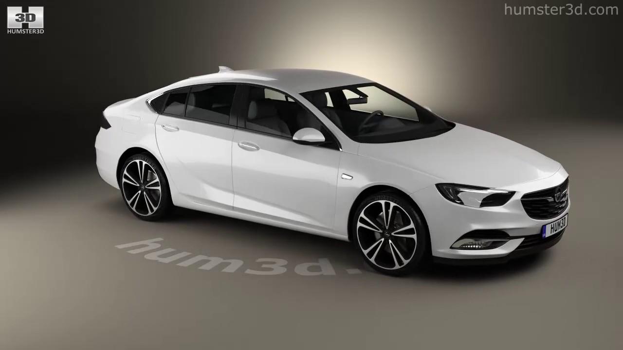 Opel Insignia Grand Sport 2017 3D Model By YouTube