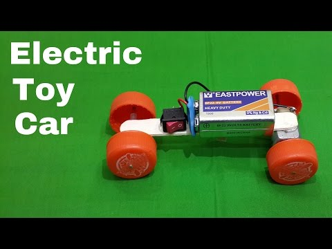 Download video how to make a homemade toy electric car for How to make a homemade electric motor