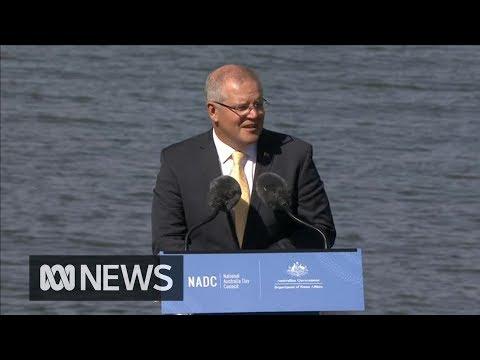Scott Morrison addresses the Australia Day National Citizenship Ceremony 2019   ABC News