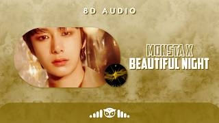 8D | MONSTA X (몬스타엑스) – Beautiful Night | USE HEADPHONES |