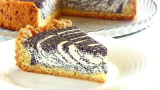 Творожно - маковый пирог