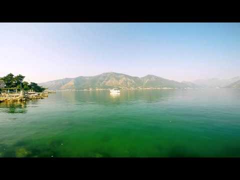 Dobrota, Kotor Bay,  Montenegro 10min views (Full HD)