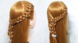 Trendy Hairstyle for Wedding/party/Function 🍓 hairstyles for girls 🍀 Cute Hairstyles for Party