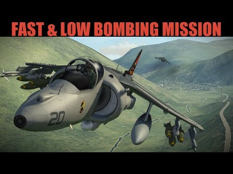 Syria Campaign: FAST LOW DAS Mission To Take Out S300 Sams | Harrier & Tigers | DCS